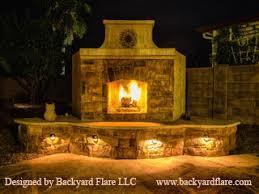 Backyard Fireplace Plans by Backyard Flare Com