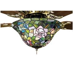 Stained Glass Ceiling Fan Light Shades Ceiling Fan Light Shades Smashing Stained Glass Lighting