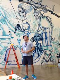 facebook office interior david choe paints new facebook offices arrested motion