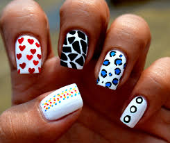 navy nail designs images nail art designs