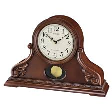 seiko qxq031blh wooden chime mantel clock with pendulum bright