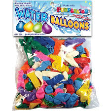 water balloons pumponator 250 biodegradable water balloons walmart