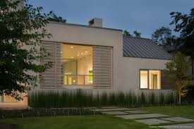 High End Cement Block House Design That Seems Modern By Appying