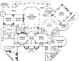 deck floor plan balmoral castle plans luxury home plans