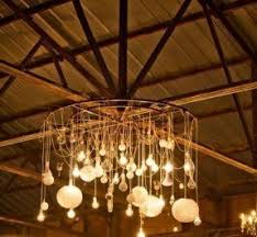 Chandelier With Edison Bulbs Edison Chandelier Foter