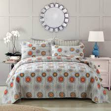 Grey Quilted Comforter Bedspreads U0026 Quilt Sets U2013 Dada Bedding Collection