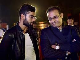 praise for virat s fitness work ethic at launch of book about his
