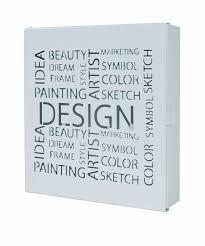 schluesselkasten design haku möbel 44525 schlüsselkasten 22 x 5 x 24 cm schwarz