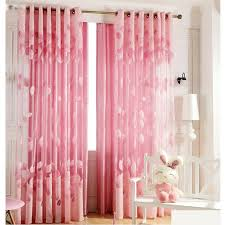 girl bedroom curtains romantic pink sheer curtains cheap for girls room pink sheer