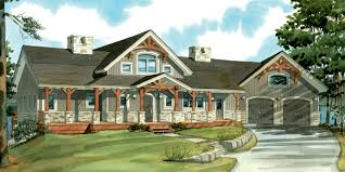 timber frame house plans with walkout basement decoration with
