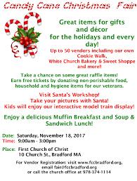 first church of christ calendar 2017 christmas craft fair