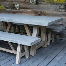 concrete top outdoor table outstanding bordeaux concrete top table outdoor furniture terra
