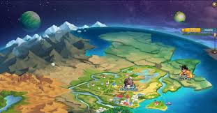 Online World Map by Dragonball Z Online Online Anime Games