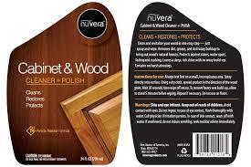 Cabinet Polish Cabinet U0026 Wood Cleaner Polish Nuvera
