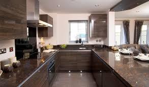 kitchen design modern u shaped kitchen design with dark brown