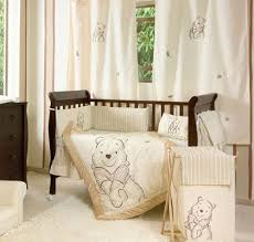 Classic Winnie The Pooh Nursery Decor Bedding Winnie The Pooh 4 Pc Crib Bedding Set Crib Bedding