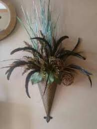 Wall Sconce Floral Arrangements Peacock Bell Battery Wall Sonce Peacock Feather Wall Sconce By