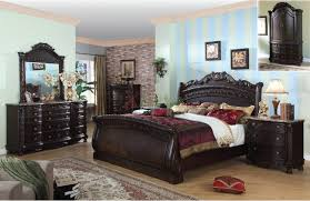 sky stripes paint color ideas for bedroom with dark blackish brown