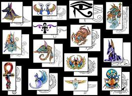 egyptian tattoos what do they mean egyptian tattoo designs