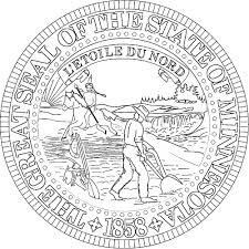 minnesota flags emblems symbols outline maps