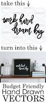 1012 best calligraphy chalkboards images on pinterest budget friendly hand drawn vectors plus a video tutorial