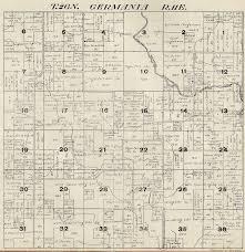 plat maps 1920 germania township shawano county plat map