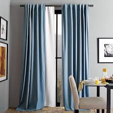 Brown Blackout Curtains Blackout Curtain West Elm