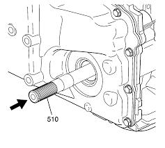 repair instructions output shaft assemble 2001 chevrolet
