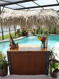 tiki bar set outdoor home tiki hut kits