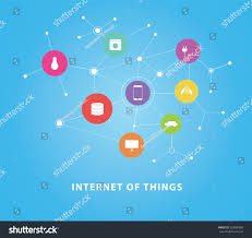 internet things vector flat design concepts stock vector 322060088