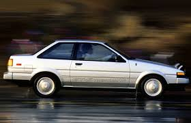 toyota corolla gt coupe ae86 for sale 1984 1987 toyota corolla sport coupe a last rear wheel drive