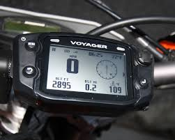 Led Light Bar For Dirt Bike by Trail Tech Voyager Gps Kit Dirt Bike Test