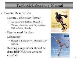 Pearson Anatomy And Physiology Lab Manual Welcome To Biology 101 Human Anatomy U0026 Physiology I Ppt Download