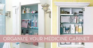 Bathroom Cabinet Organizer 8 Quick Tips For Organizing Your Medicine Cabinet Curbly