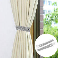 Rope Tiebacks For Curtains Voile Tie Backs Curtains Blinds Ebay