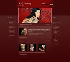 9 best and creative wordpress themes for piercing tattoo and body
