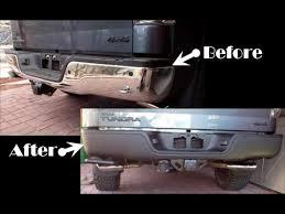 2002 toyota tacoma rear bumper replacement tundra rear bumper removal plasti dip and rust repair