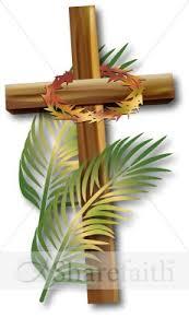 palm sunday crosses palm sunday cross clipart