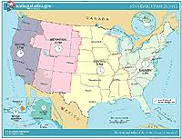 map of time zones in the usa printable printable maps time zones