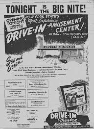 mohawk drive in theatre was located in colonie new york