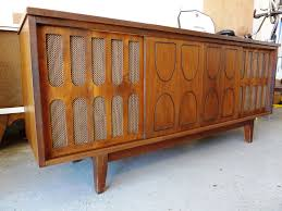 tv stands with cabinet doors once a console stereo now a tv stand media cabinet doors on the