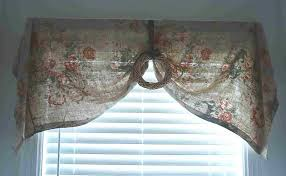 accessories fetching yellow fabric tied up window valance in