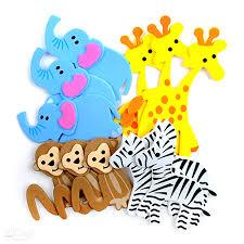 3d foam stickers safari animals 12 pcs www dpcraft pl
