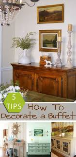 decorating a dining room buffet remodelaholic how to decorate a buffet