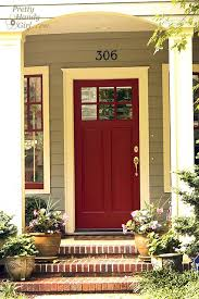 Best Front Door Paint Colors 67 Best Gray House With Colored Doors Images On Pinterest Front