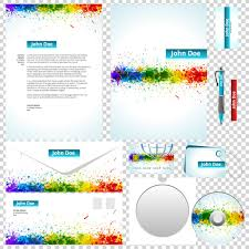 Business Letterhead Design Vector Packaging Label Cd Envelope Business Card Letterheads Vector
