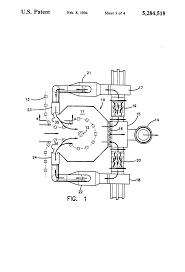 Spray Booth Ventilation System Patent Us5284518 Recirculation Ventilation System For A Spray