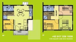 Camella Homes Drina Floor Plan Camella Silang Tagaytay Carina House And Lot For Sale In Tagaytay Phi