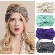 crochet hair band 2017 2015 women s fashion knot knit wool crochet headband knit