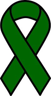 onlinelabels clip emerald liver cancer ribbon
